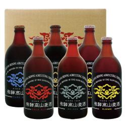 飛騨高山麦酒クラフトビール お楽しみ6瓶セット